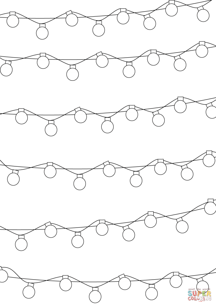 printable christmas lights Decoratingspecial