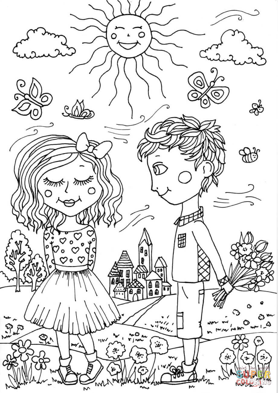 May Coloring Page Free Coloring Pages Download | Xsibe summer ...