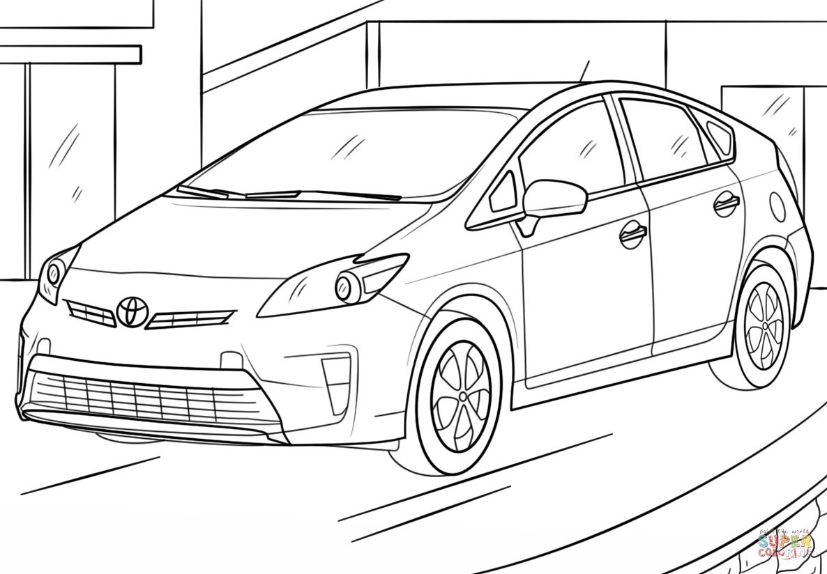 Toyota Camry Coloring Pages Coloring Pages