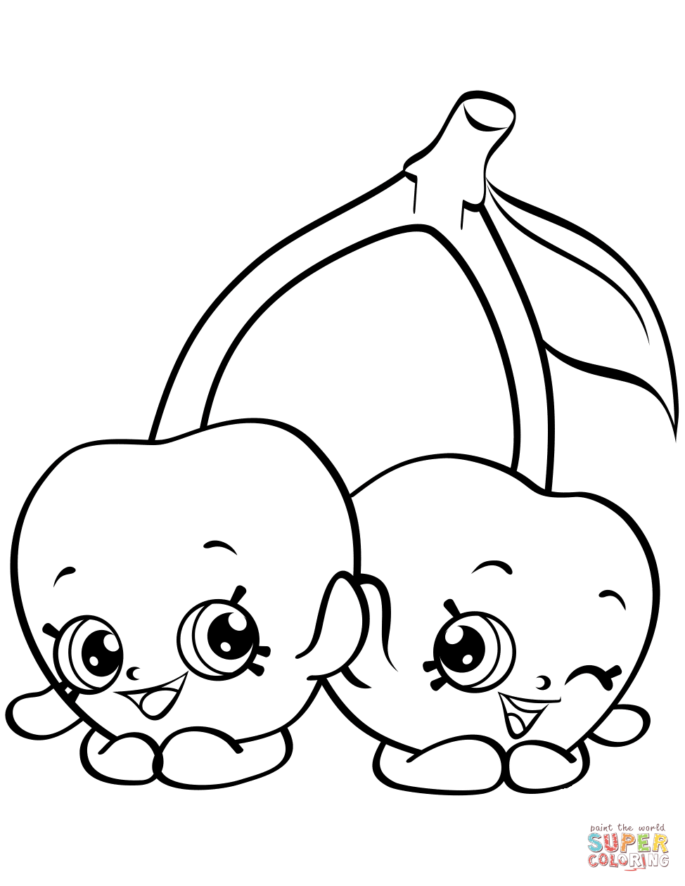 Shopkin Wobbly Jelly Colouring Pages Page 2 Sketch Coloring Page Coloring Pages