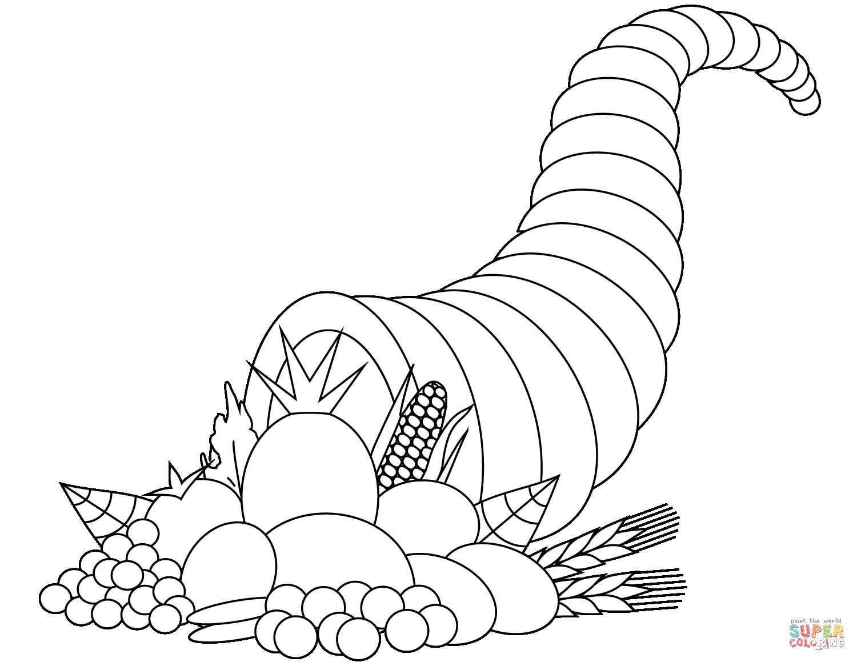 Ausmalbild Fullhorn