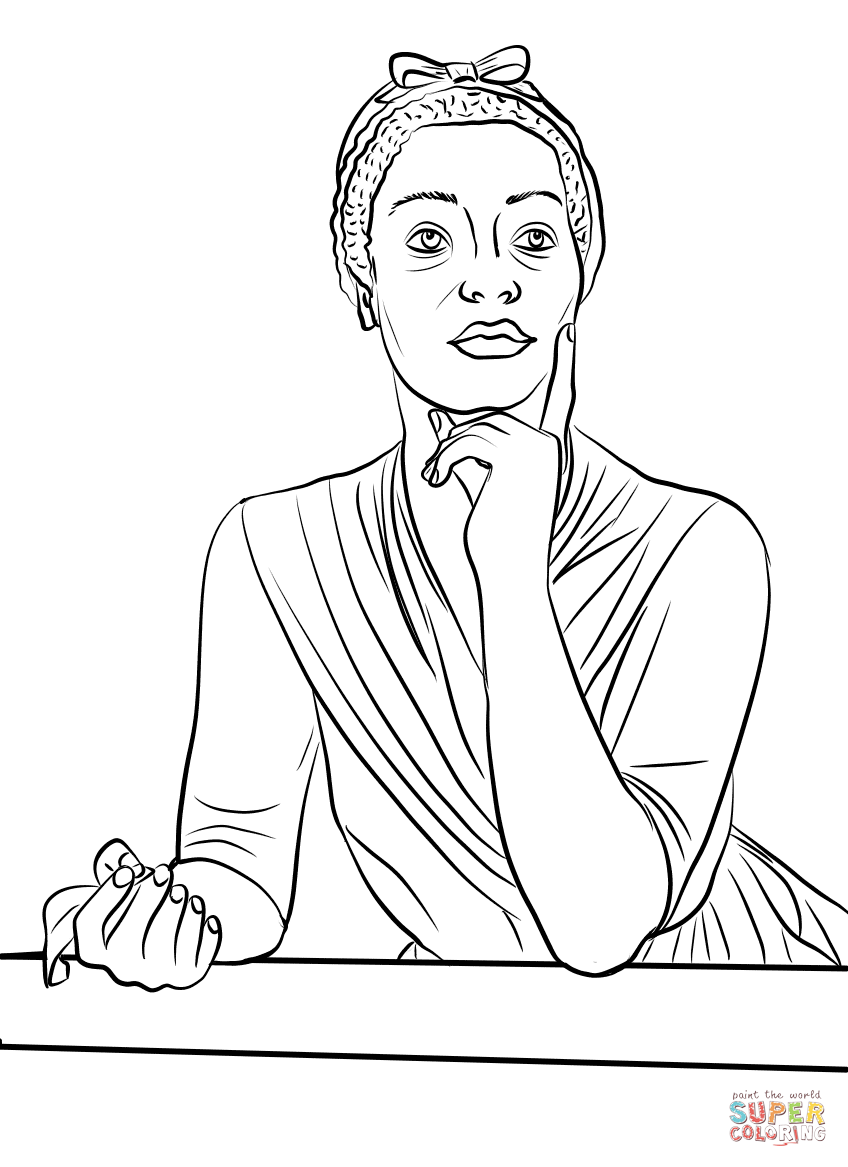 Black History Month Coloring Pages Free Printable Pictures