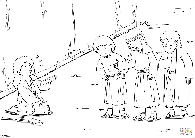 Blind Bartimaeus Receives His Sight Mark 10 46 52