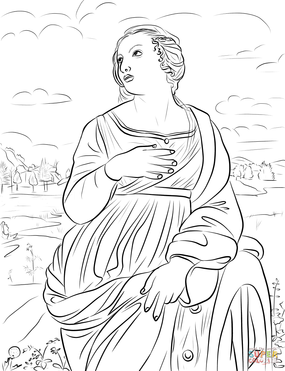 Printable Coloring Pictures Saints
