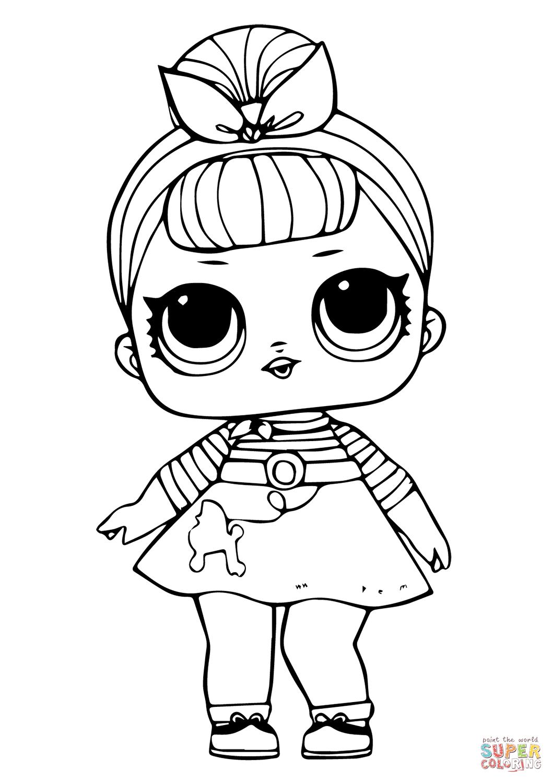 Disegno Di Bambolina Carina Da Colorare