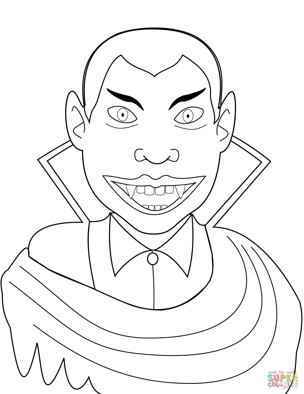 Kolorowanka Hrabia Drakula