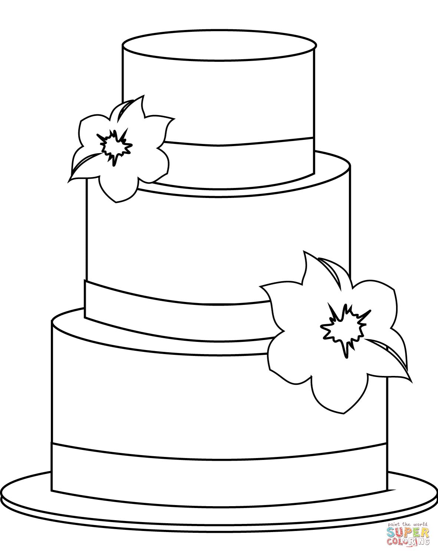 Dibujo De Torte Para Colorear