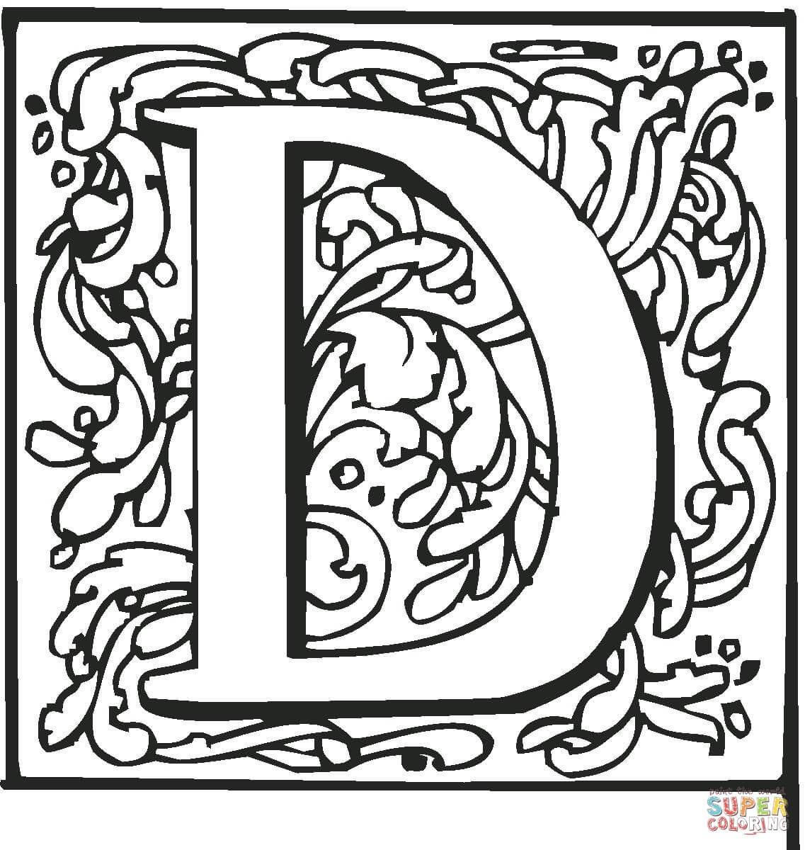 Fancy Design Pages Coloring Pages