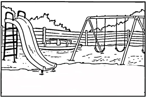 playground coloring pages # 1
