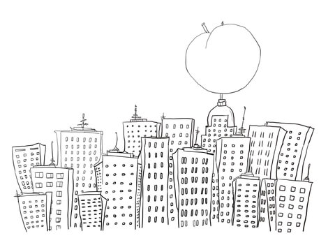 new york coloring pages # 14