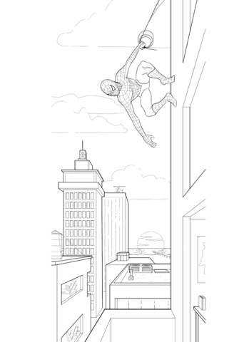 Spiderman Coloring Pages Free Coloring Pages
