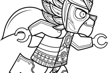 Free Download Coloring Wallpaper » lego chima coloriage