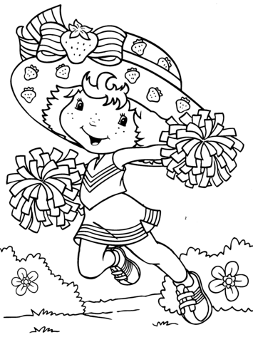 Gambar Hello Kitty Rainbow And Strawberries Kids Coloring Pages Jpeg ...