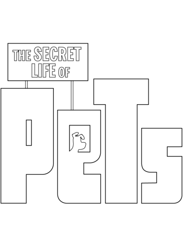 The Secret Life Of Pets Coloring Page Free Printable Coloring Pages
