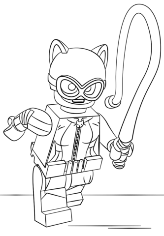 List of Catwoman Coloring Pictures Pict - Best Pictures
