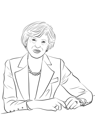 Theresa May Coloring Page Free Printable Coloring Pages