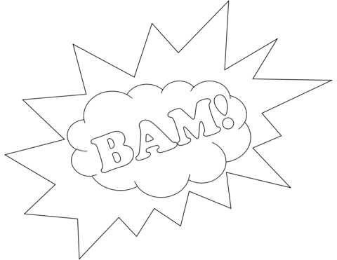 Bam Coloring Page Free Printable Coloring Pages