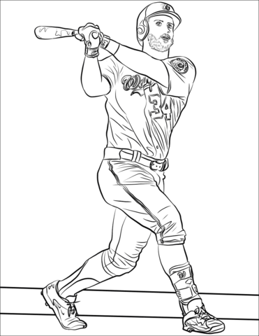 Mlb Coloring Pages Free Coloring Pages