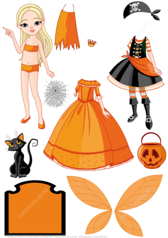 Halloween Costumes Pirate Princess And Fairy For A Girl
