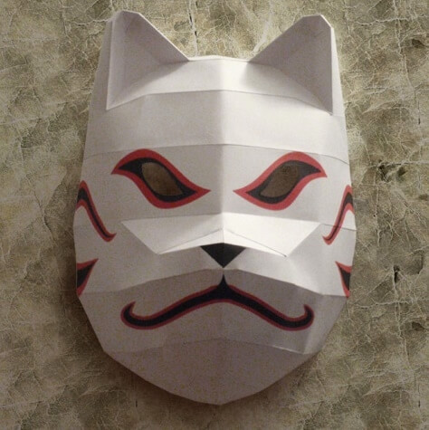 Kakashi Hatake Mask From Naruto Free Printable