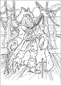pirates of the caribbean coloring pages # 29