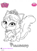 Disney Palace Pets Coloring Pages Free Coloring Pages