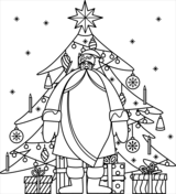 Santa Claus Coloring Pages Free Coloring Pages