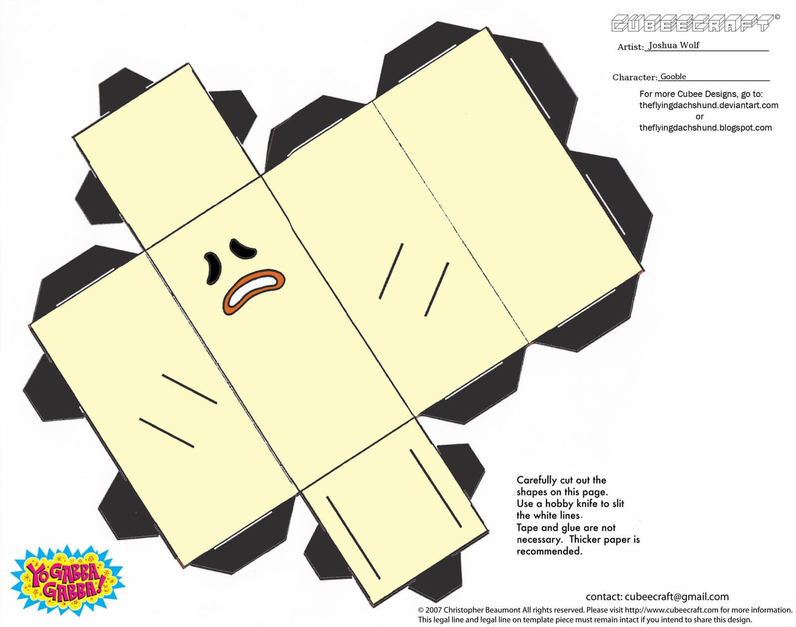 Gooble Paper Toy
