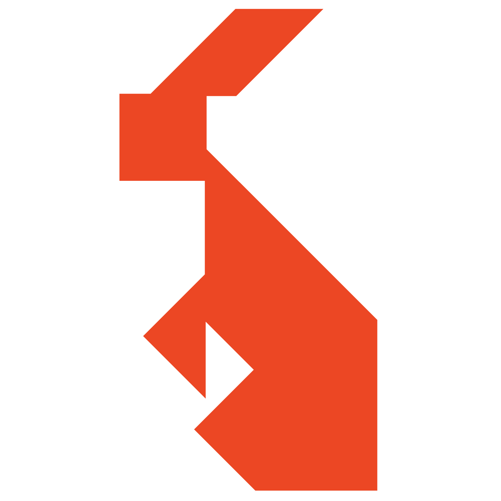 Tangram Rabbit Shape And Solution