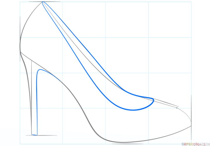 High Heel Shoe Pattern