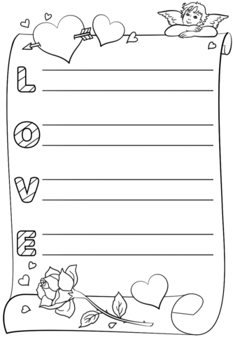 An acrostic poem is a cryptographic form in which the first letter of each line spells out. Love Acrostic Poem Template Free Printable Papercraft Templates