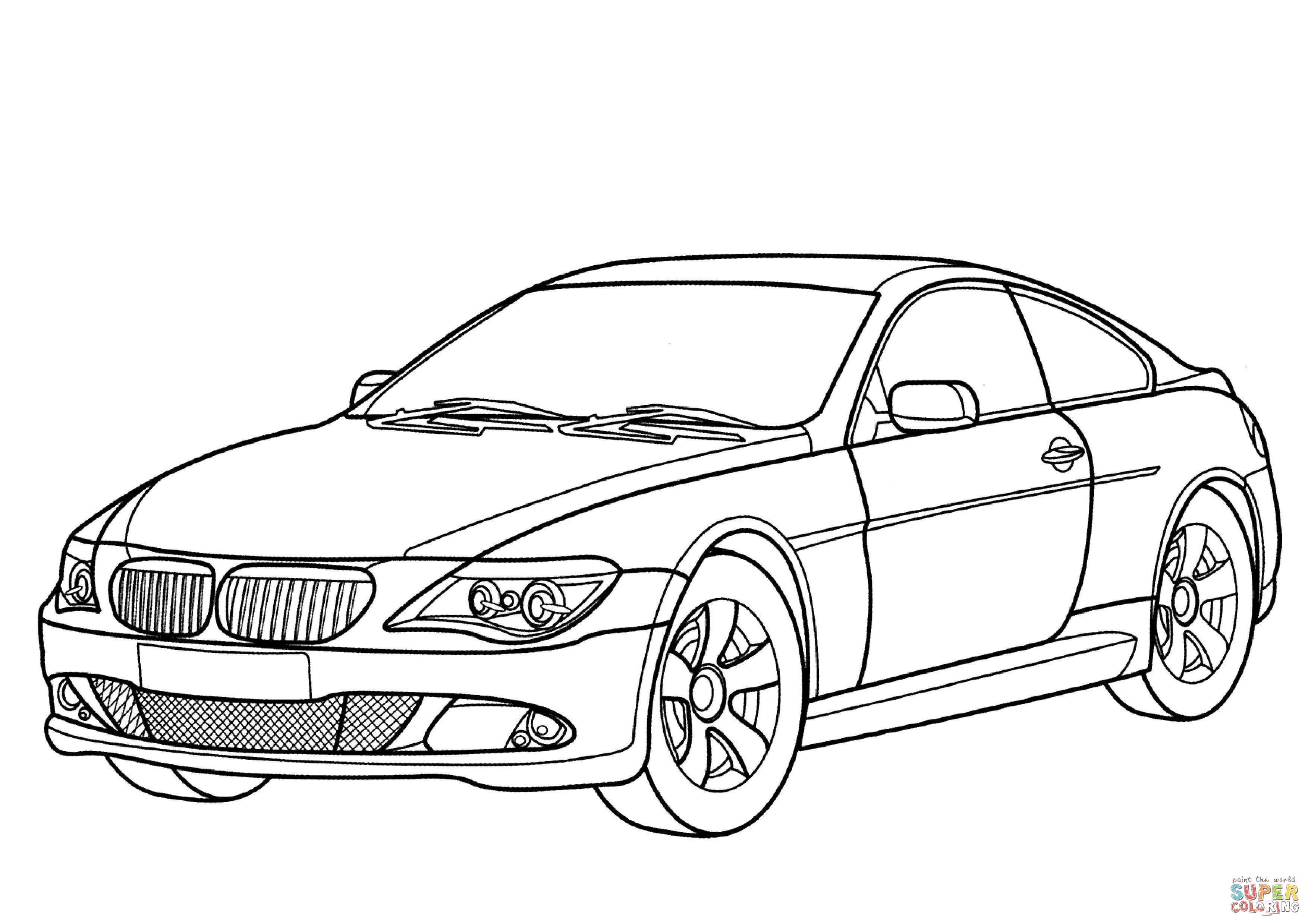 Bmw M4 Coloring Pages Coloring Pages
