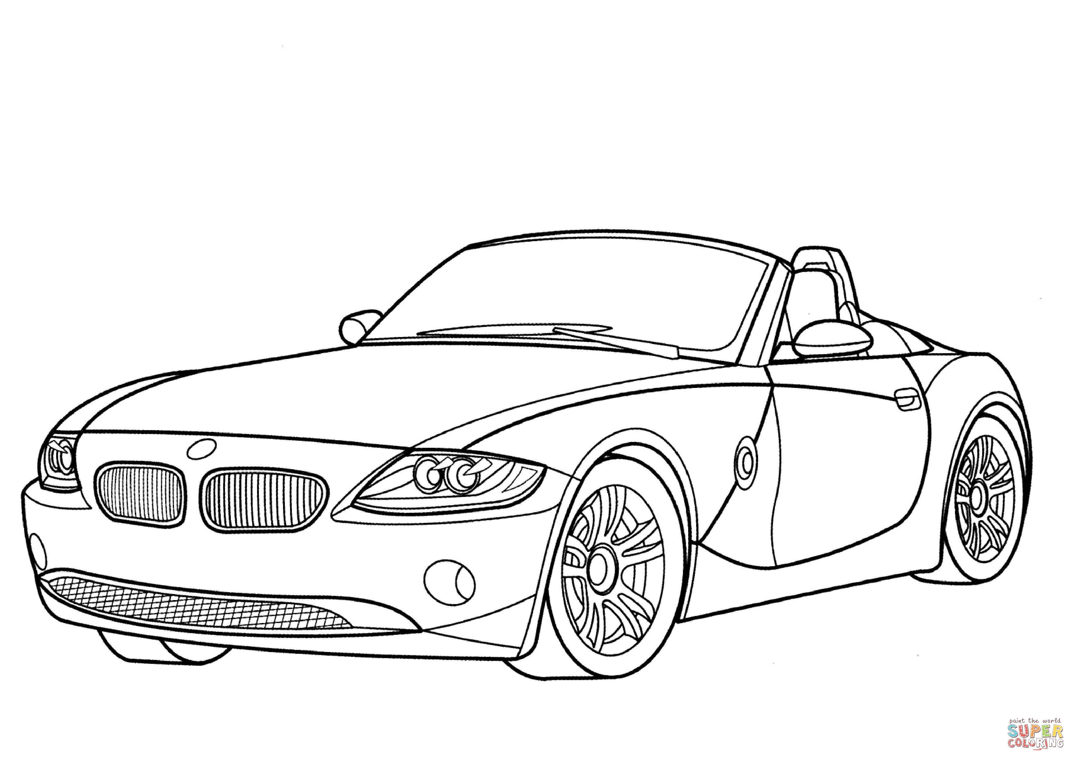Bmw I8 Coloring Pages Coloring Pages