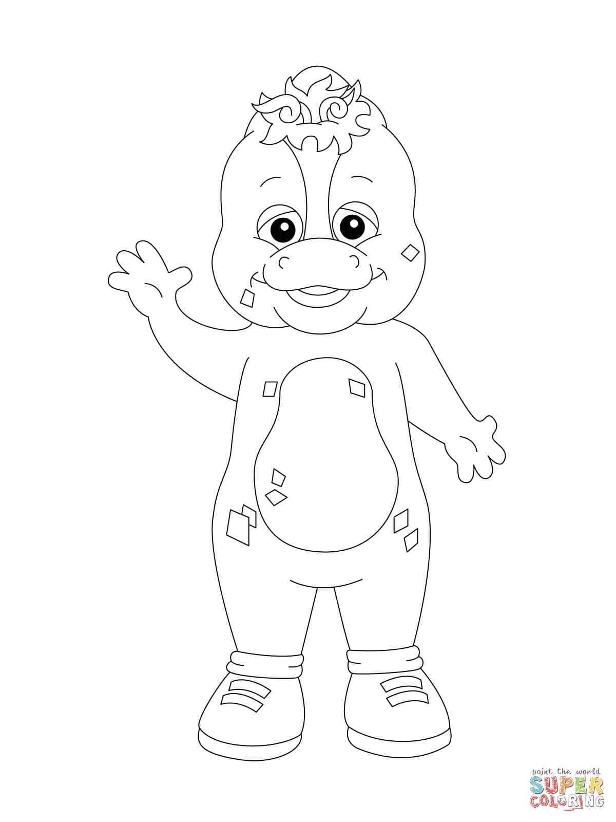 Riff Coloring Pages