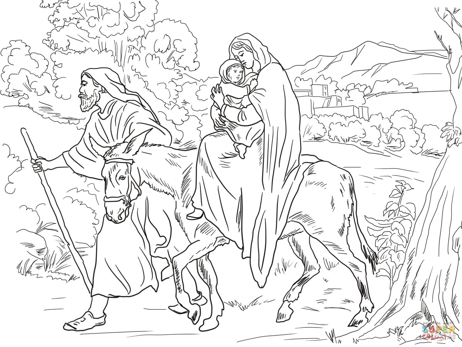 Autumn With Trusty And The Nativity