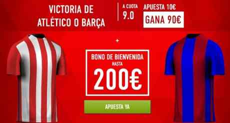 Supercuota Sportium Copa del Rey Atletico - Barcelona