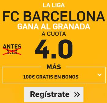 Supercuota Betfair Barcelona gana Granada