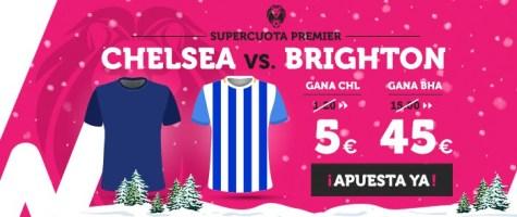 Supercuota Wanabet Premier Chelsea vs Brighton