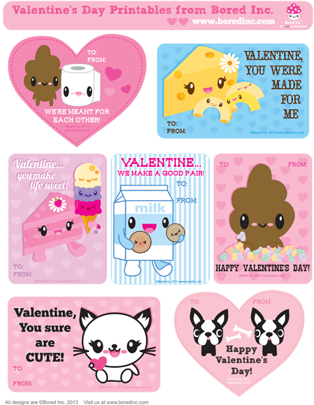 Last Minute Valentine's Makes - Super Cute Kawaii!!
