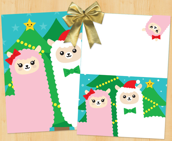 Cute Christmas Gift Guide Printable Cards Super Cute