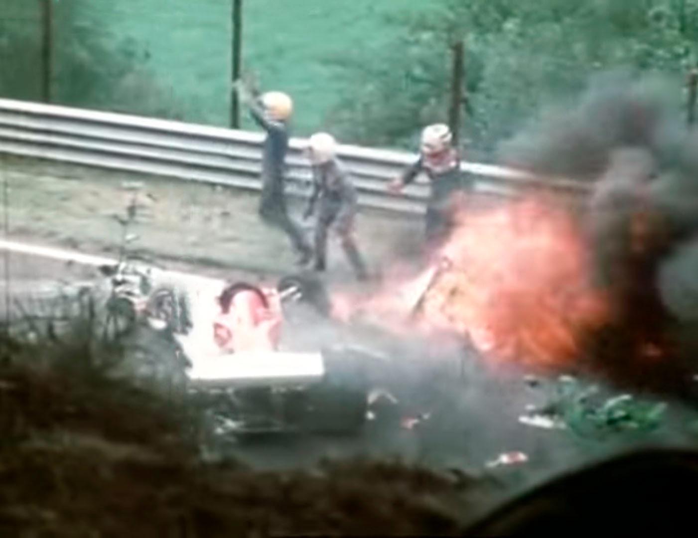 Niki Lauda em 1976 - foto by Youtube