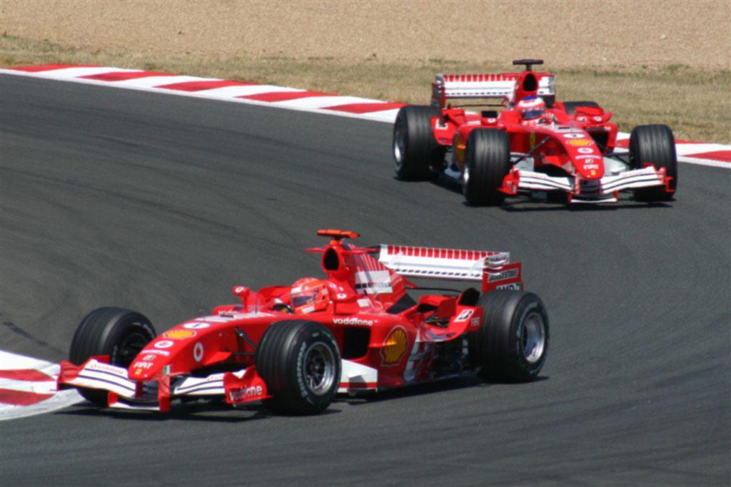 F1 Rubens Barrichello Ferrari foto by Flickr Paul Williams