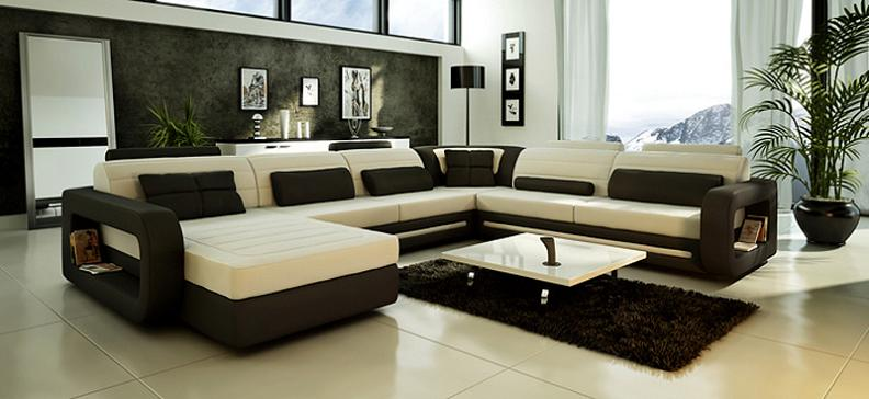 Modern Custom Leather Sofa Sectional Sofas And Furniture In : custom leather sectional sofa - Sectionals, Sofas & Couches