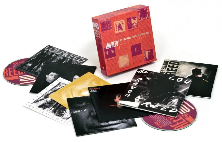 Lou Reed / The Sire Years: Complete Albums box / 10CD set