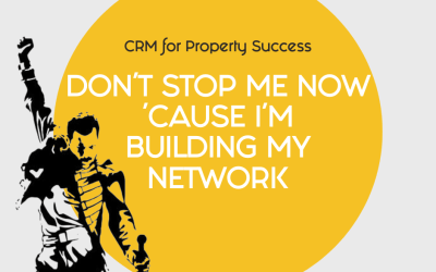 Don't stop building your network