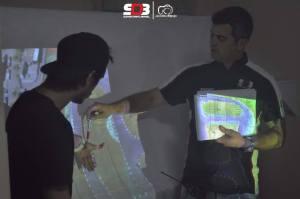 Juizes e Organizadores apresentando o traçado da pista do Super Drift Brasil