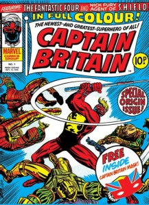Captain Britain #1