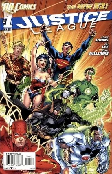 Justice League 2011 #1