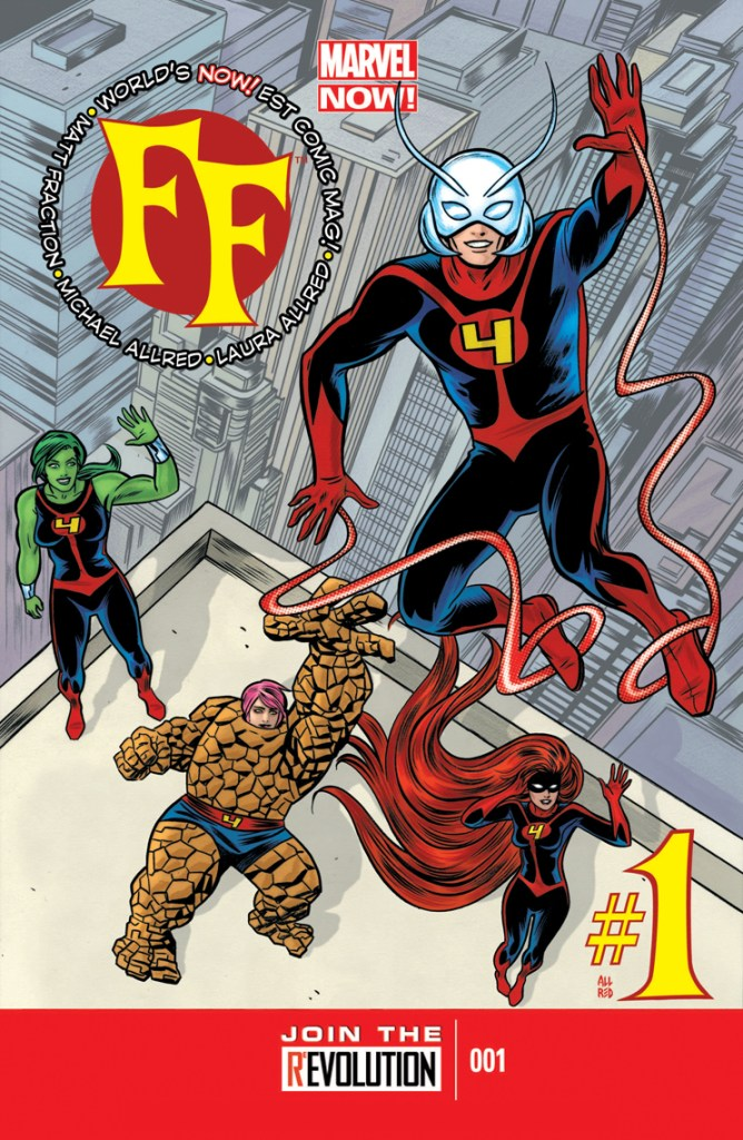 Marvel Now Fantastic Four