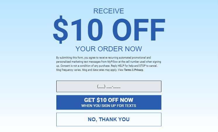 how to get 50 off mypillow promo codes